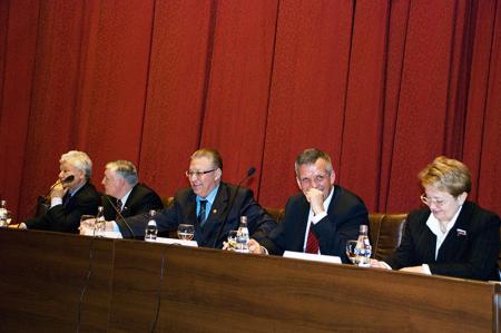Совещание «Формирование отходоперерабатывающей индустрии в Российской Федерации: состояние, проблемы, правовое регулирование»