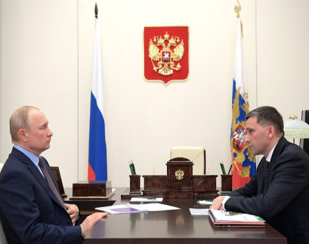 Путин уволил главу Минприроды Кобылкина